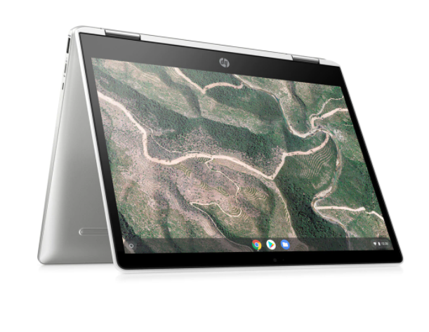 Convertible 2 en 1 HP Chromebook 14b-ca0001ns x360, Intel Celeron, 4GB, 64GB eMMC