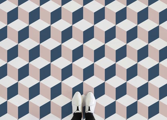 Pink Cube Feet