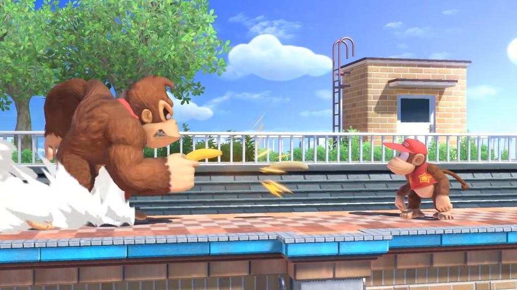 Super Smash Bros Ultimate Objetos