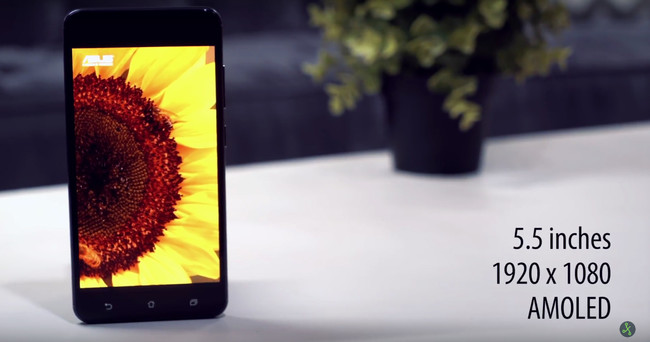 Asus Zenfone Zoom S Frontal