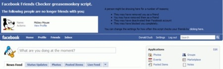 Facebook Friends Checker, comprueba quien te elimina en Facebook