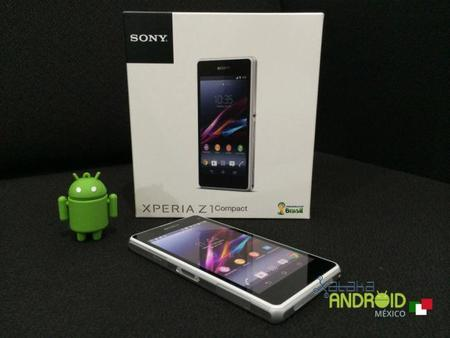 Sony Xperia Z1 Compact llega a Telcel y a la Sony Store
