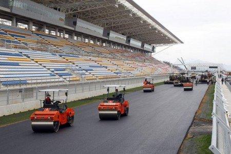 Gran Premio de Corea del Sur de Fórmula 1. Preocupa el asfalto del Circuito de Yeongam