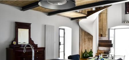 Una casa que combina modernidad y tradición en Croacia