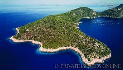 Islas privadas a la venta en Europa: Isla Nafsika, Grecia