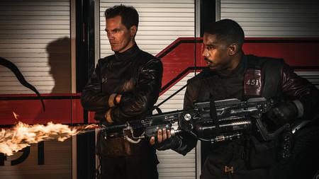 'Fahrenheit 451' estrena tráiler lleno de fuego y luces neón: HBO ya tiene lista su película distópica