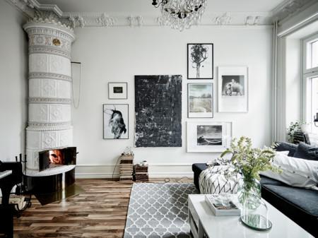 9 ideas para decorar en blanco y negro