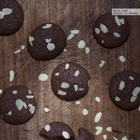 Receta de galletas de brownie