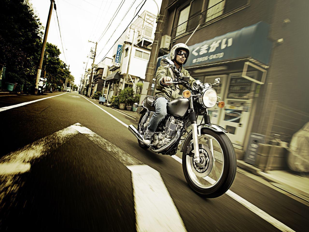 Foto de Yamaha SR400 2014 BSR (1/18)