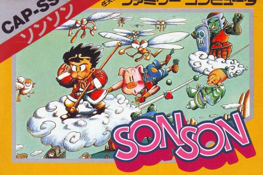 Retroanálisis de SonSon, el minimalista hombre mono de Capcom que era incapaz de estarse quieto