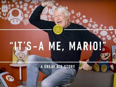Charles Martinet recuerda una vez más cómo se convirtió en la voz de Mario (y la de medio Reino Champiñón)