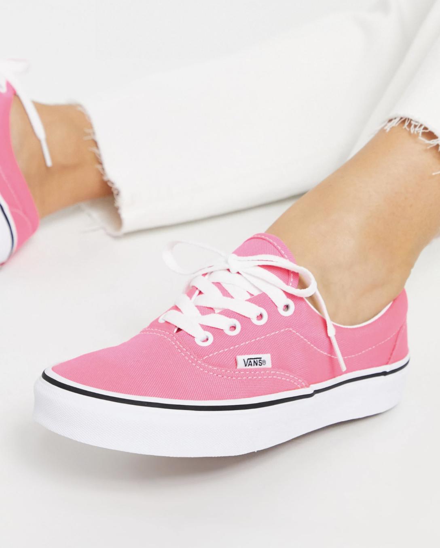Zapatillas bajas rosas de lona Era de Vans