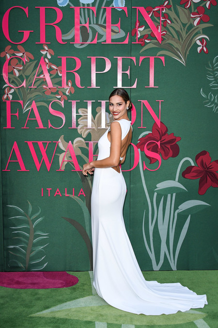 Beatrice Valli green carpet fashion awards 2019