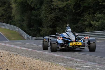 Formula Ford 1.0 ecoboost - trasera
