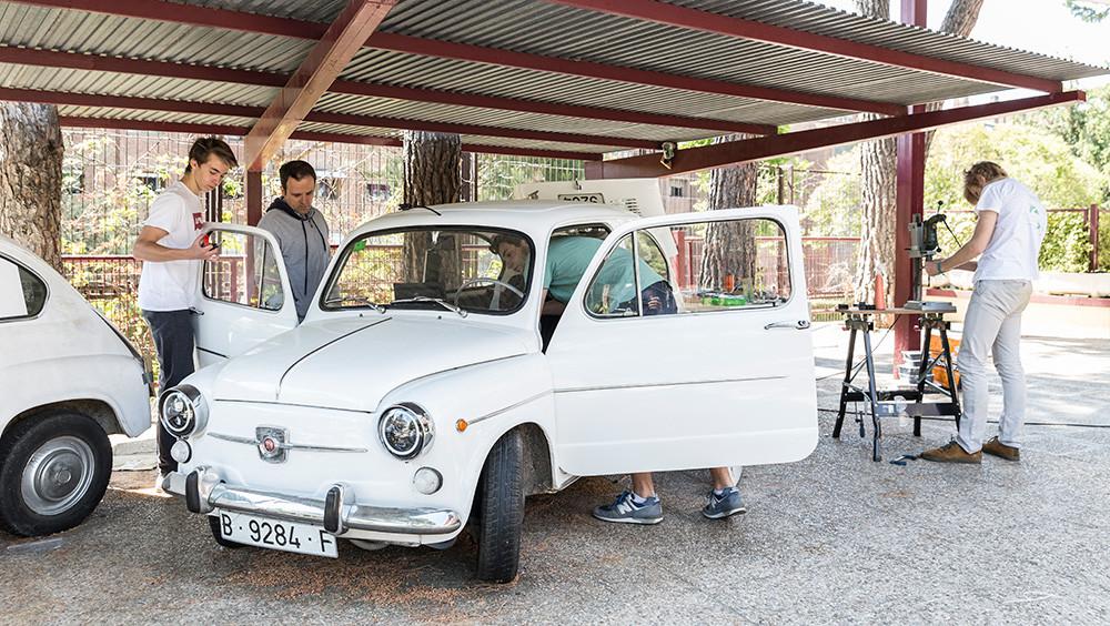 Foto de El SEAT 600 eléctrico de unos estudiantes de secundaria (8/9)