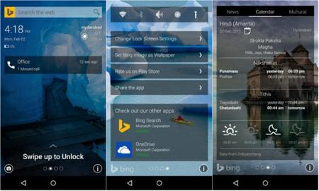 Microsoft Garage lanza Picturesque Lock Screen para Android