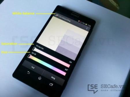 Sony Xperia Z Screen Calibration