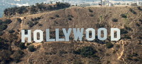 La rocambolesca historia del cartel de Hollywood: antes era luminoso y era un anuncio inmobiliario