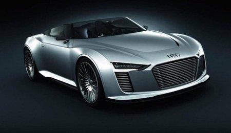Audi e-tron Spyder concept se dejó ver en Le Mans