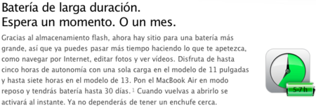Batería MacBook Air