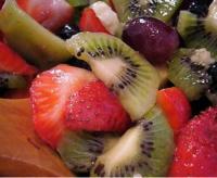 Macedonia de frutas para asegurar la ración diaria de vitaminas