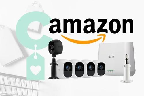 De nuevo en Amazon, por la Semana de Internet, tenemos aún más rebajada la gama Arlo Pro 2 de videovigilancia