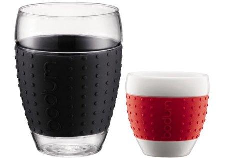 Bodum Pavina, tazas y vasos con los que no te quemarás