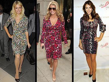 Truco de estilo: estampado de leopardo en diferentes colores