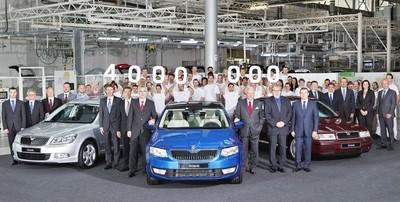 La producción del Škoda Octavia alcanza los cuatro millones de unidades