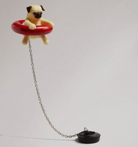 Pug Bath Plug