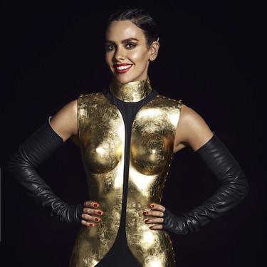 Así ha sido el look de Cristina Pedroche en las Campanadas 2020: una escultura de oro