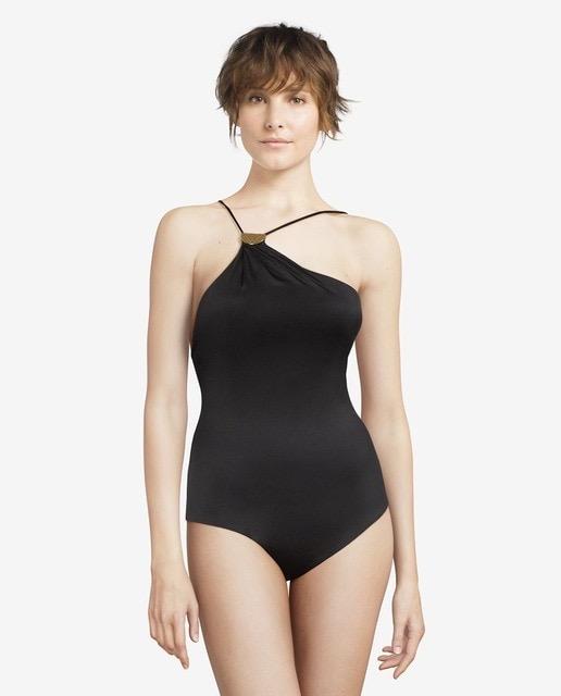 Bañador de mujer asimétrico sin aros