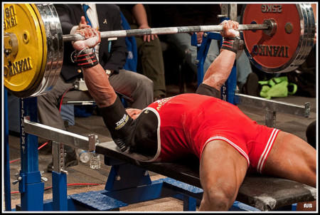 La activación muscular de acuerdo a la inclinación del banco