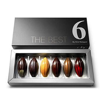 Chocolates con sabores exóticos