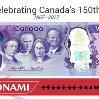 El código Konami activa un Easter Egg en la web del nuevo billete de 10 dólares canadienses
