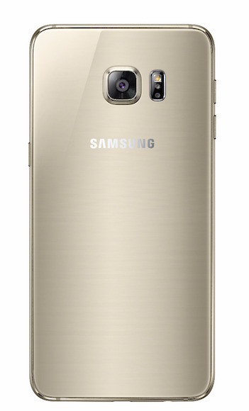Galaxy S6 Edge Back Gold Platinum