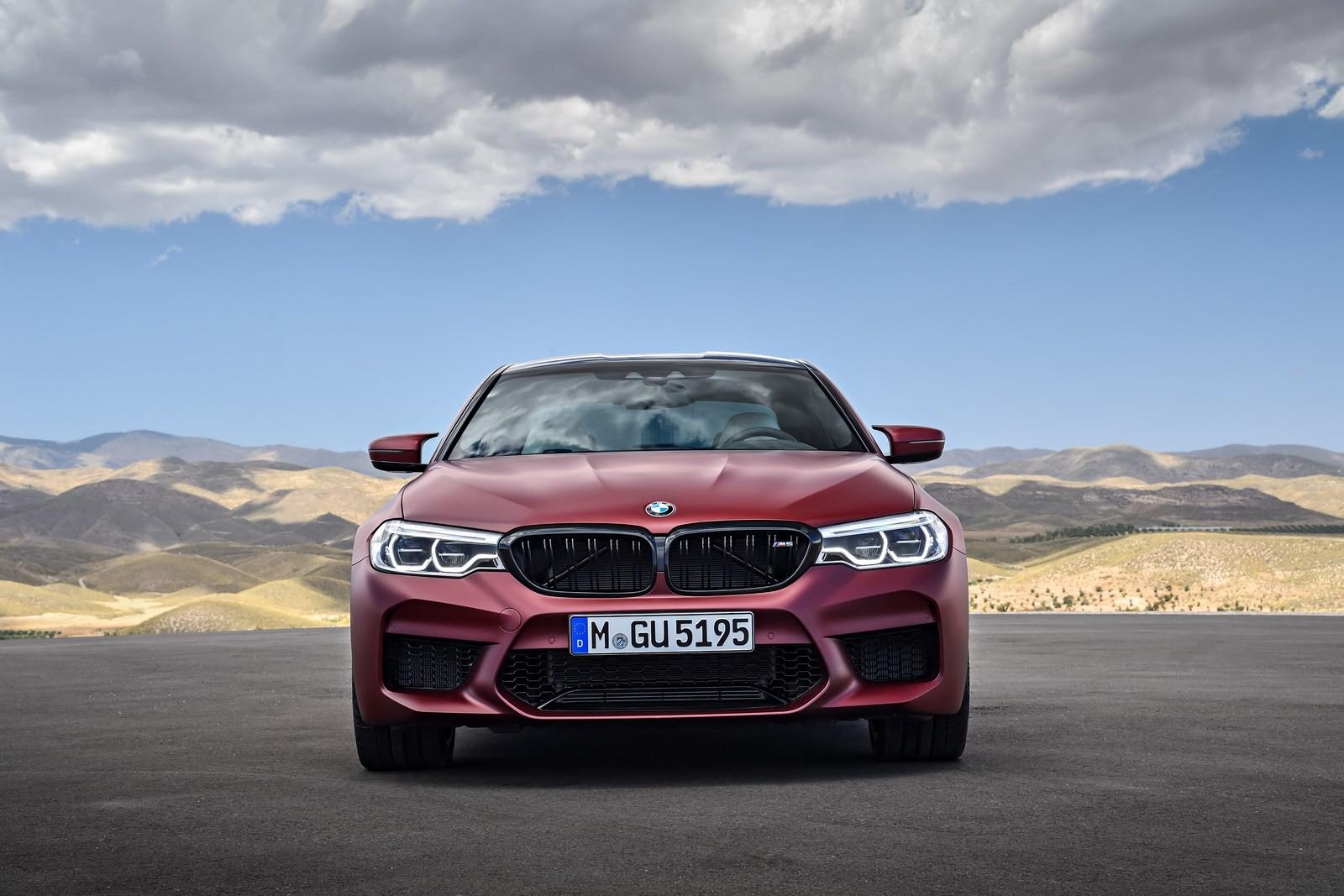 Foto de BMW M5 2018 (31/57)