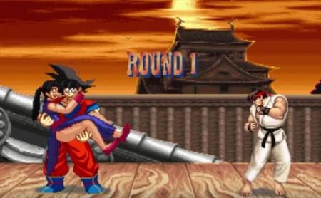 Goku vs. Street Fighter II es el crossover que estábamos esperando... y que no podremos jugar