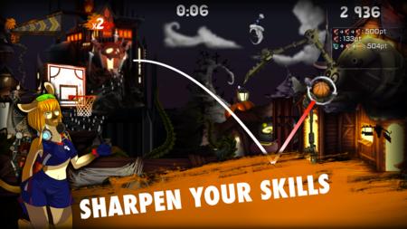 Tip-Off BasketBall 2 nos trae canastas imposibles y un montón de desafíos divertidos