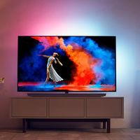Philips estrenará nueva tele OLED de 65 pulgadas con Ambilight y base de sonido incorporada en 2018