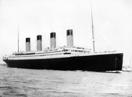 China recrea el hundimiento del Titanic