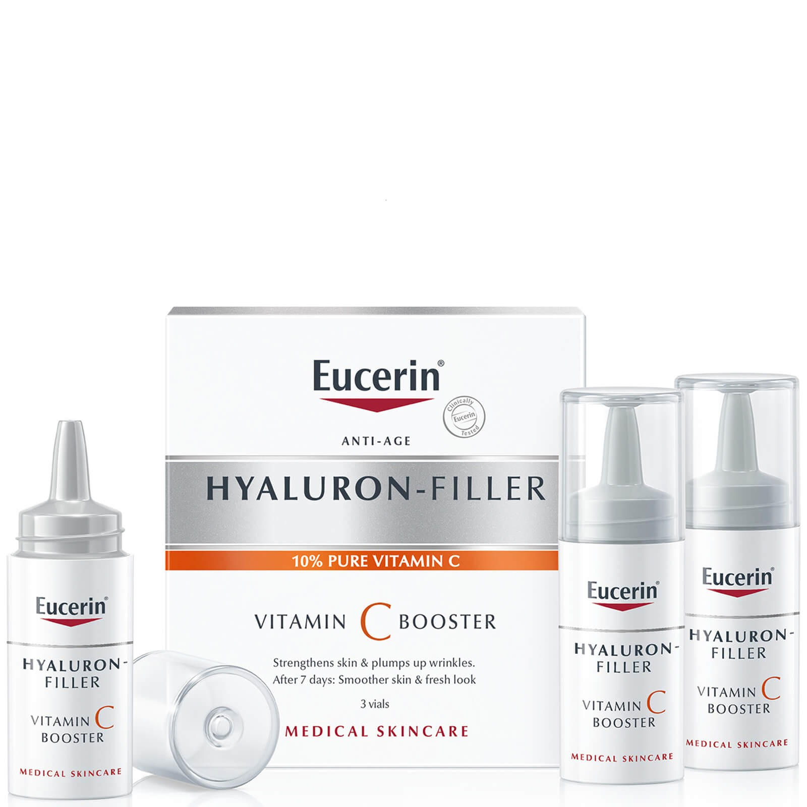 Eucerin Hyaluron-Filler Vitamin C Booster (3 viales)