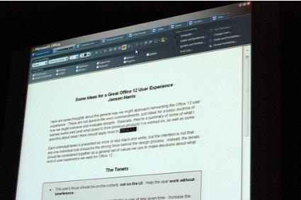 Las GUIs de Office 2007 que no fueron
