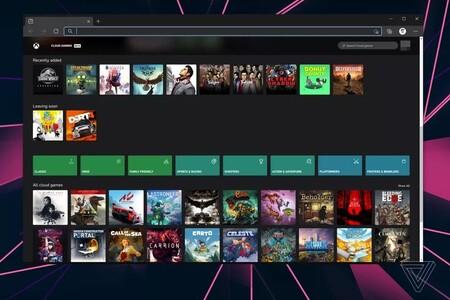 Xbox Xcloud Version Web Navegador