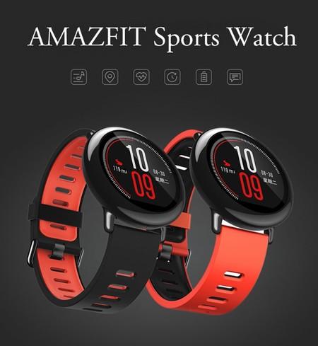 Oferta Flash: reloj deportivo Xiaomi Amazfit, en versión internacional, por sólo 82 euros