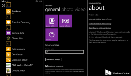 Lumia Camera estaría disponible para todos los Windows Phone con la llegada de Windows 10