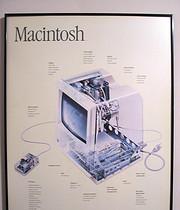 Poster original del primer Mac de 1984
