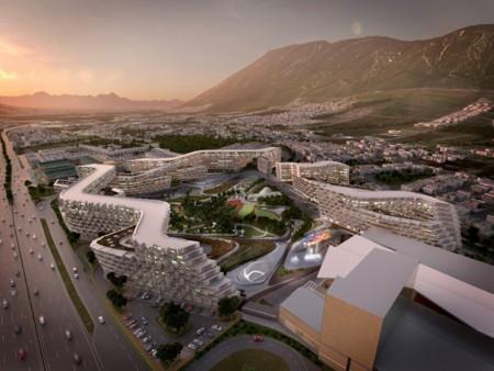 Así de impresionante será el  primer proyecto arquitectónico de Zaha Hadid Architects en México