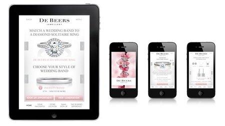 De Beers lanza su app de novias