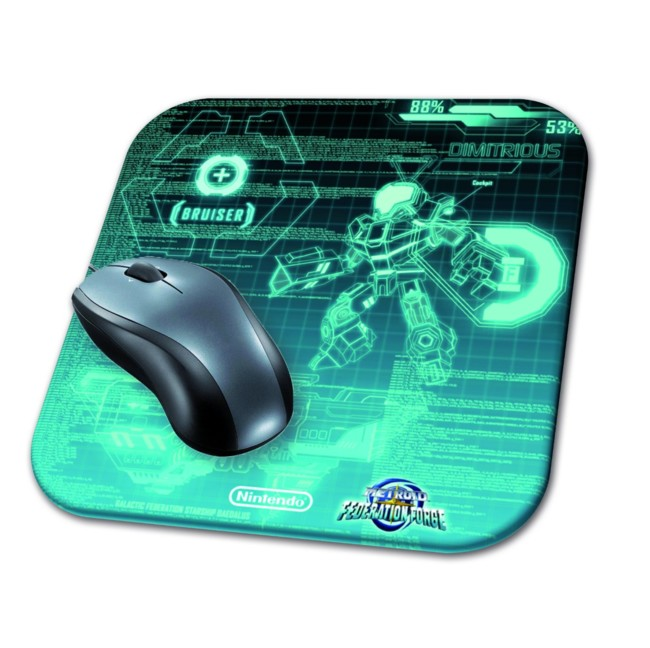 Metroid Prime Federation Force Alfombrilla